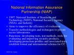 national information assurance partnership niap