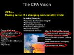 the cpa vision