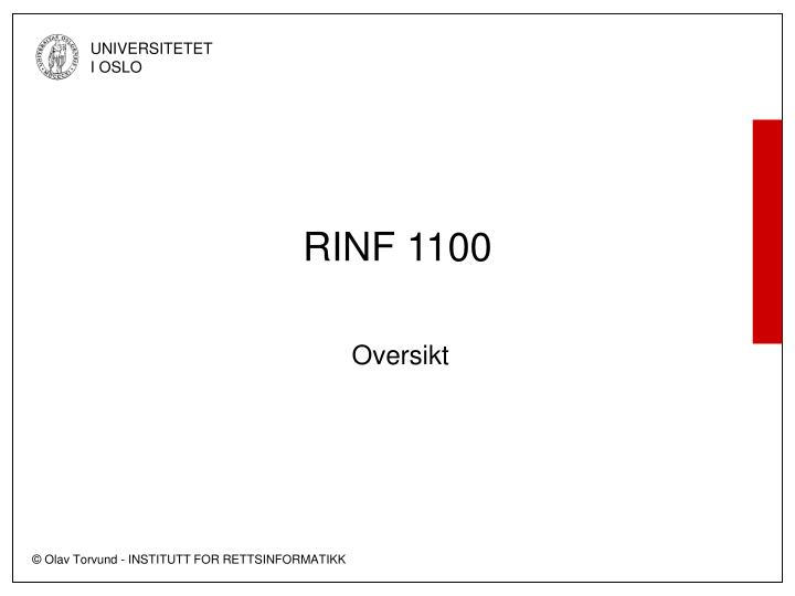 rinf 1100 n.