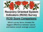 rosi score comparisons1