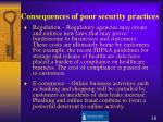 consequences of poor security practices1