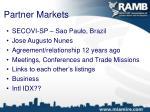 partner markets