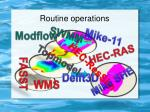 routine operations1