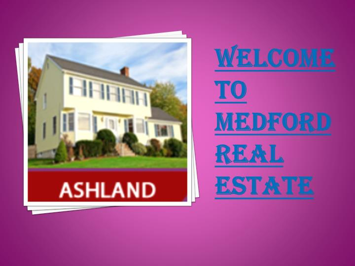 welcome to medford real estate n.