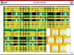 6 pixel cluster