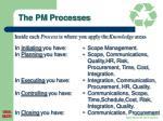 the pm processes