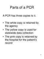 parts of a pcr