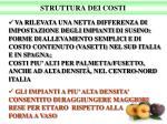 struttura dei costi1