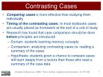 contrasting cases1