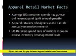 apparel retail market facts
