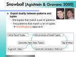 snowball agichtein gravano 2000