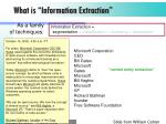 what is information extraction2