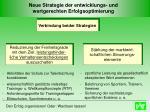 neue strategie der entwicklungs und wertgerechten erfolgsoptimierung