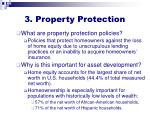 3 property protection