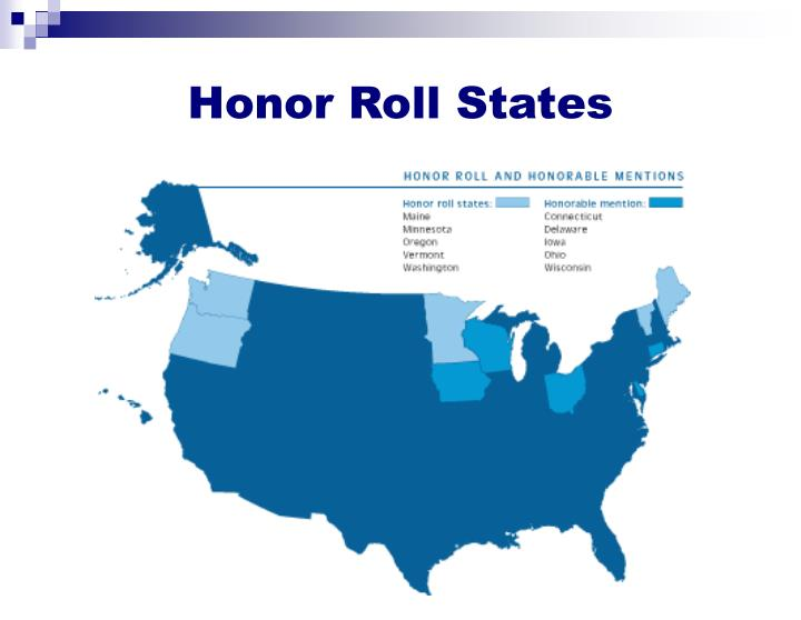 Honor Roll States