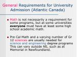 general requirements for university admission atlantic canada1