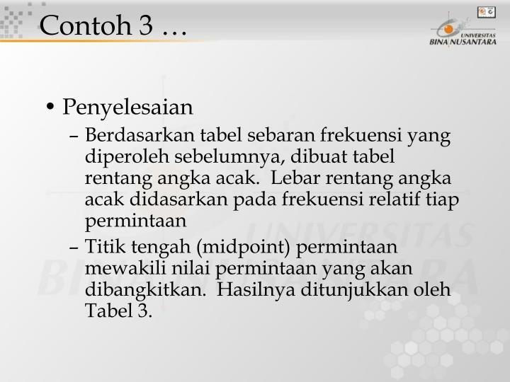 Contoh 3 …