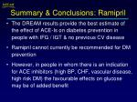 summary conclusions ramipril1