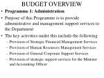 budget overview1