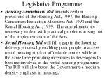 legislative programme1