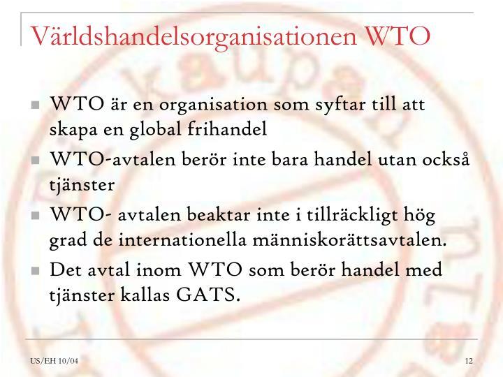 Världshandelsorganisationen WTO