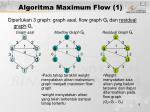 algoritma maximum flow 1