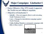 major campaigns linebacker i