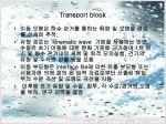 transport block