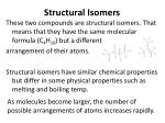 structural isomers1