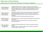 relevance for new zealand opportunities for government business civil society academia
