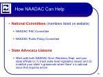 how naadac can help1