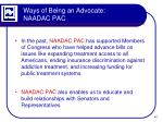 ways of being an advocate naadac pac1