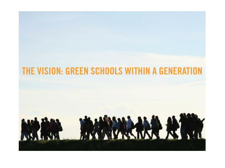 Leading a sustainable school why should we