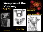 weapons of the vietcong