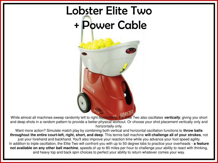 lobster elite two power cable n.