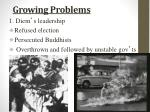 growing problems