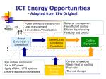 ict energy opportunities adapted from epa original