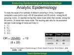 analytic epidemiology13