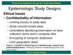 epidemiologic study designs21