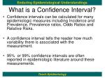 what is a confidence interval