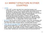 3 4 market structure in other countries