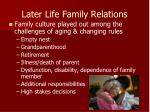 later life family relations
