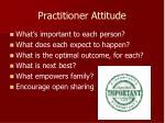 practitioner attitude1