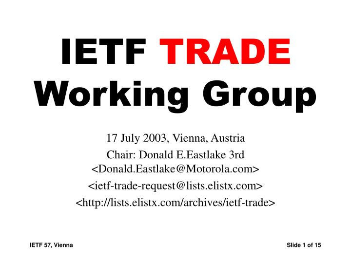 ietf trade working group n.