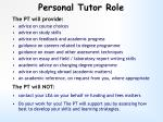 personal tutor role1