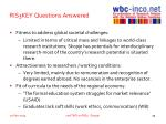 ris3key questions answered2
