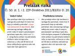 prelazak rizika l 50 st 1 i 2 zzp direktiv a 2011 83 e u l 201