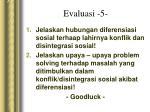 evaluasi 5