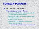 foreign markets1
