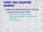 over the counter market1